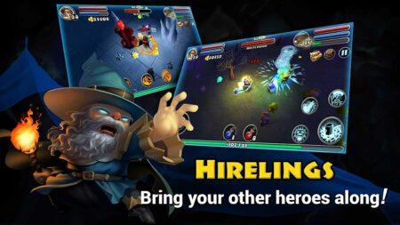 Dungeon quest Android juego de rol